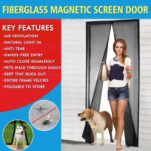 Fiberglass Mesh Screen Door