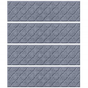 Bungalow Flooring Waterhog Indoor/Outdoor Stair Treads