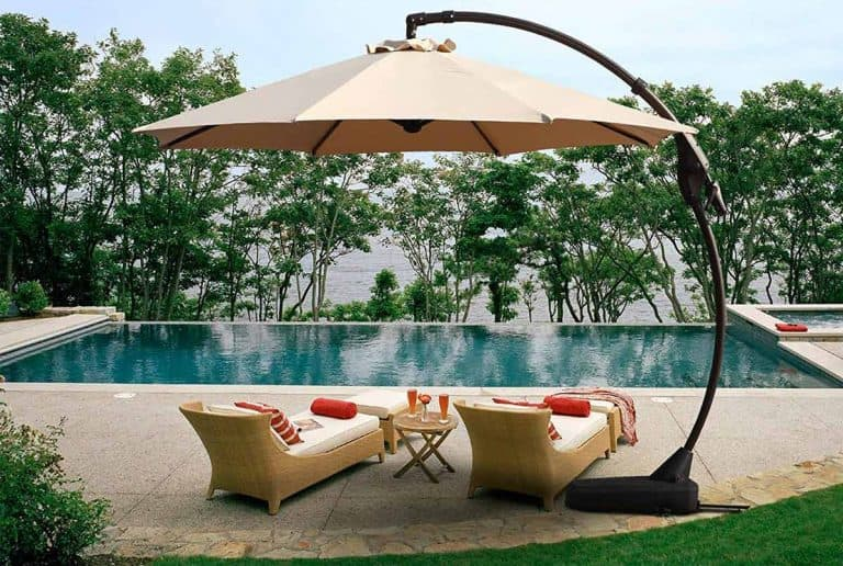 The 11 Best Offset Patio Umbrellas 2021
