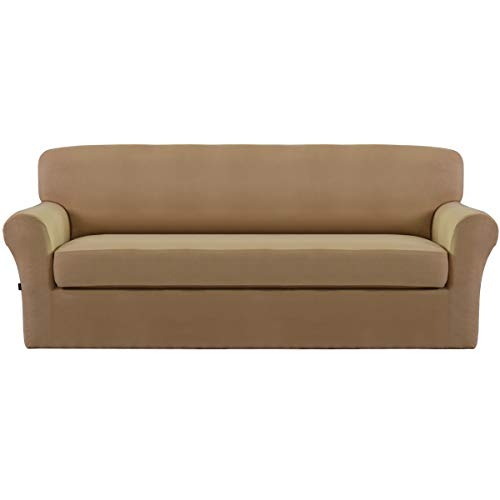 Easy-Going Stretch Micro Suede Slipcover