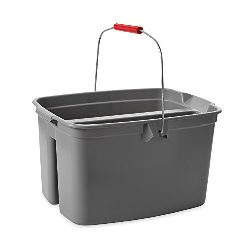 Rubbermaid Double Pail Plastic Bucket