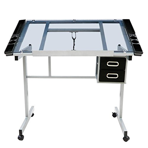 Go2buy Adjustable Drafting Drawing Table
