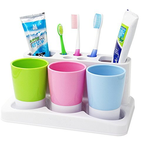 Bathroom Toothbrush Tooth Paste Stand
