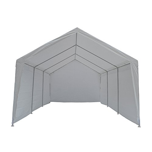 True Shelter 10′ x 20′ Car Canopy