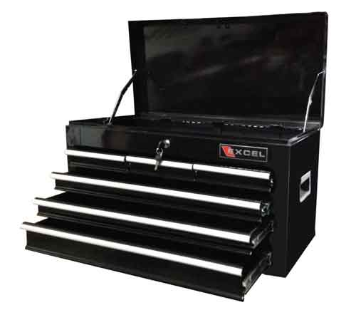 Excel TB2040BBSA-Black 26-Inch Steel Chest