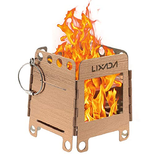 lixada Camping Stove Wood Burning Stoves