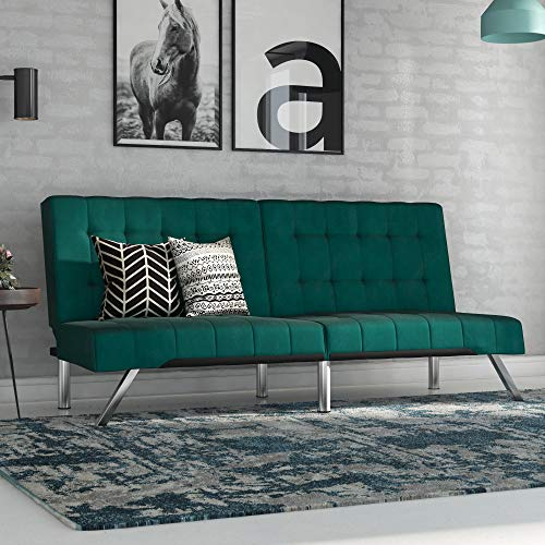 DHP Emily Futon in Emerald Green