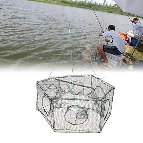 Lixada Collapsible Mesh Fishing Cage