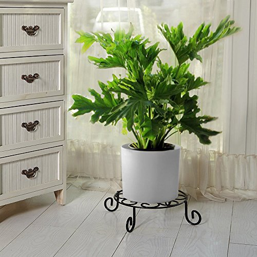 AMAGABELI GARDEN & HOME Metal Potted Plant Stand