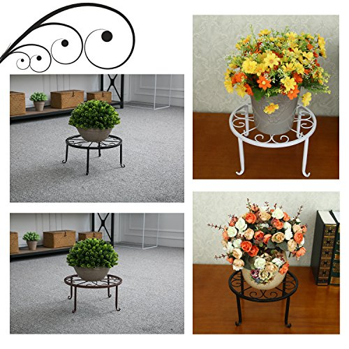 Tosnail 3 Pack Metal Potted Plant Stands