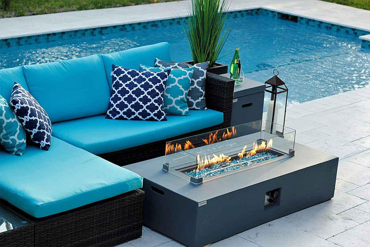 Gas Fire Pit Tables