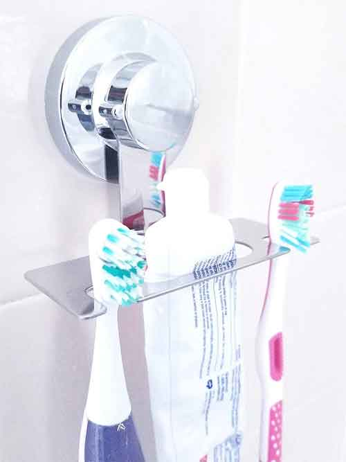 Toothbrush Holder SUCTION CUP, MIRROR, TILE