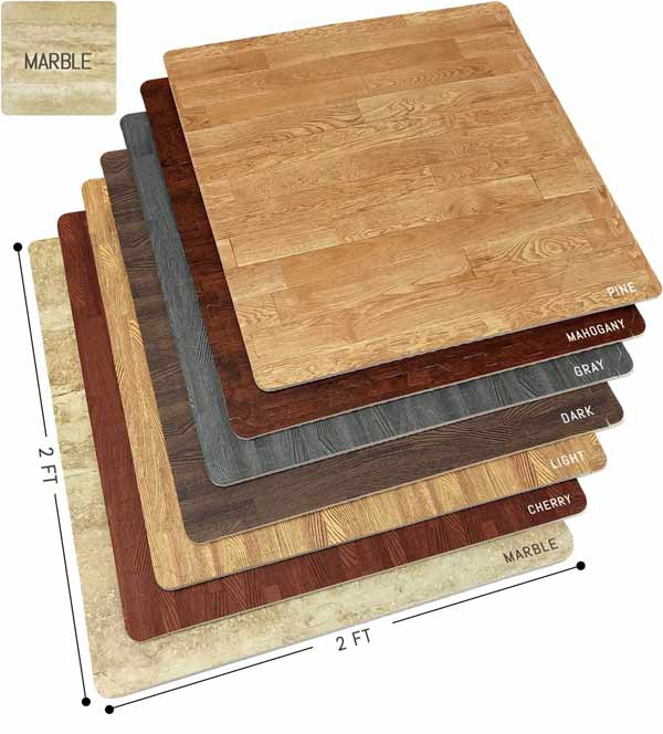 Sorbus Wood Grain Floor Mats