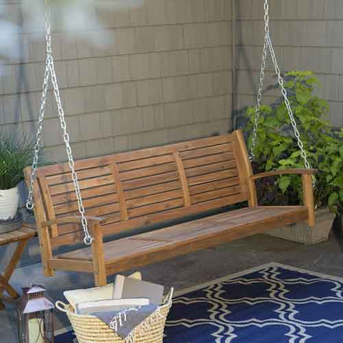 Porch Swing By: Coral Coast